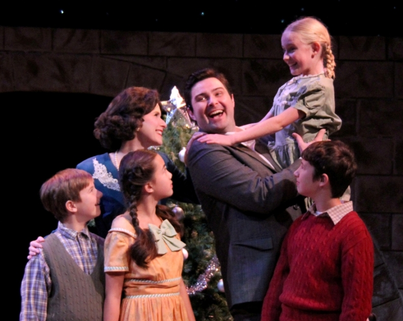 The Bailey Family in It's a Wonderful Life