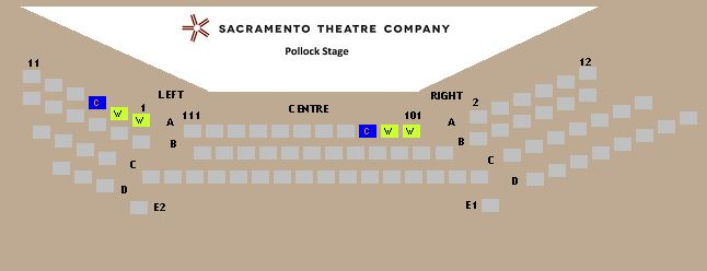 Pollock Stage map