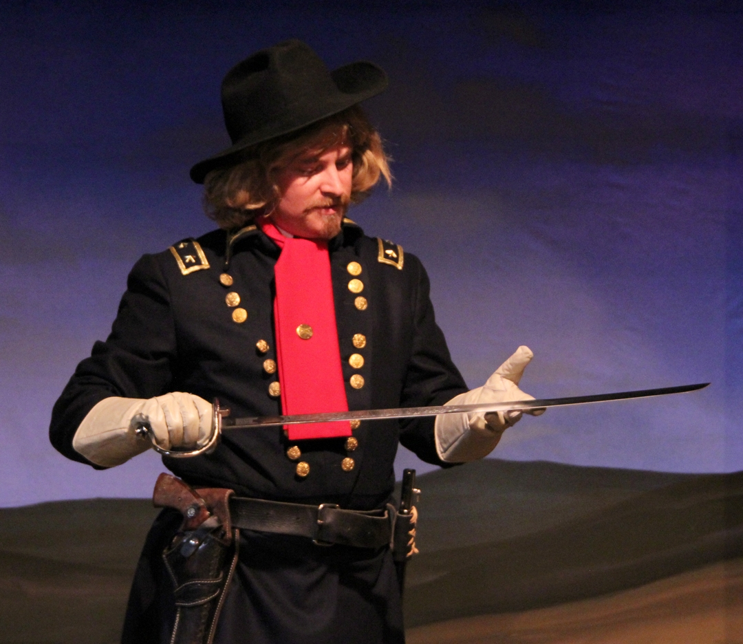 Kirk Blackinton as Colonel George A. Custer