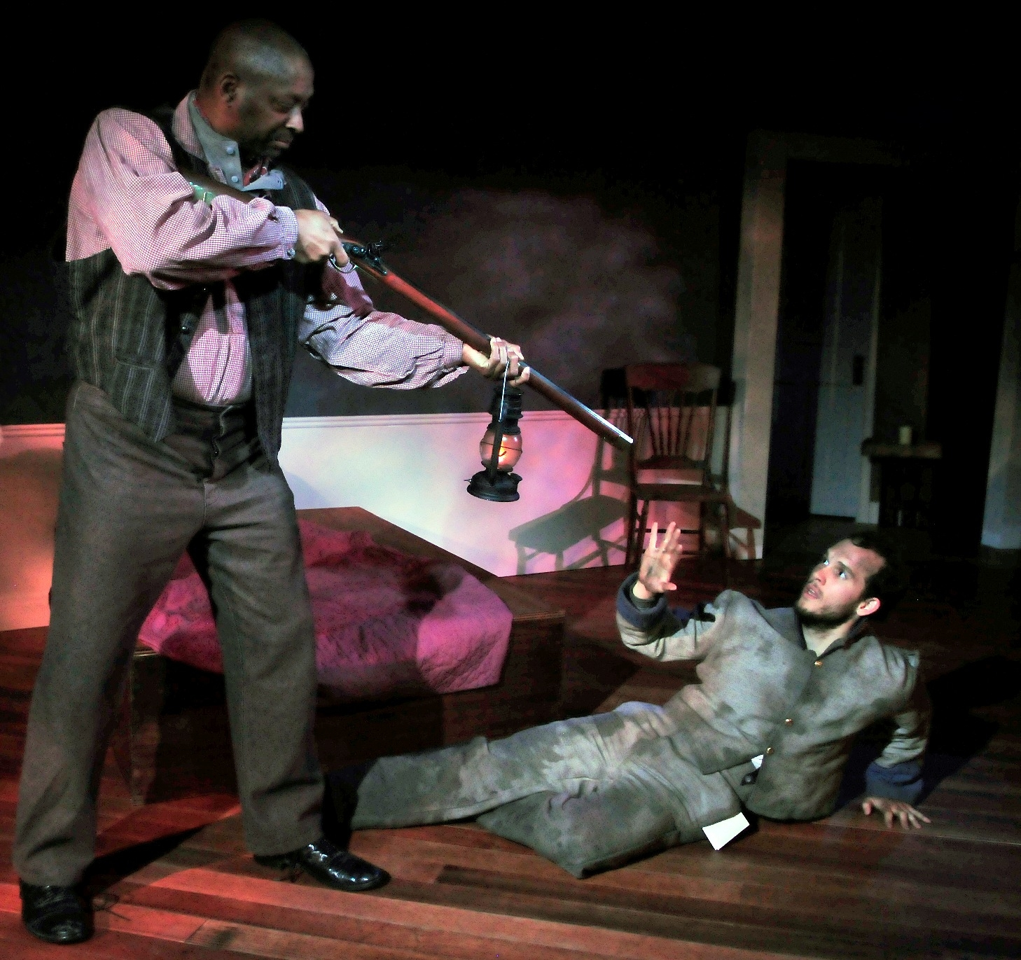 Michael J. Asberry & Sean Nill in The Whipping Man, 2015