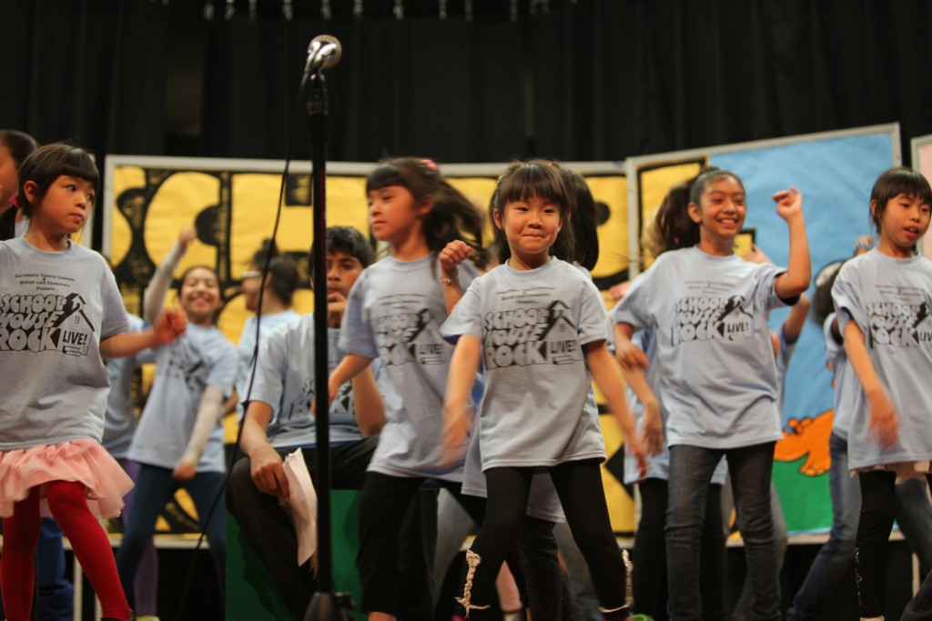 Students at William Land Elementary perform School House Rock Live!