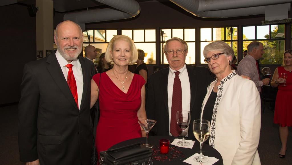 Richard & Beverly Barnes, Roy and Barbara Hecteman