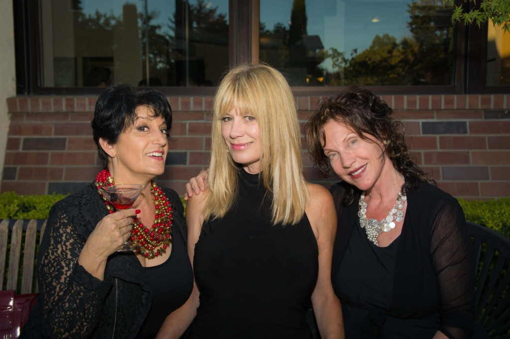 Jeri Lardy (right) and Guests