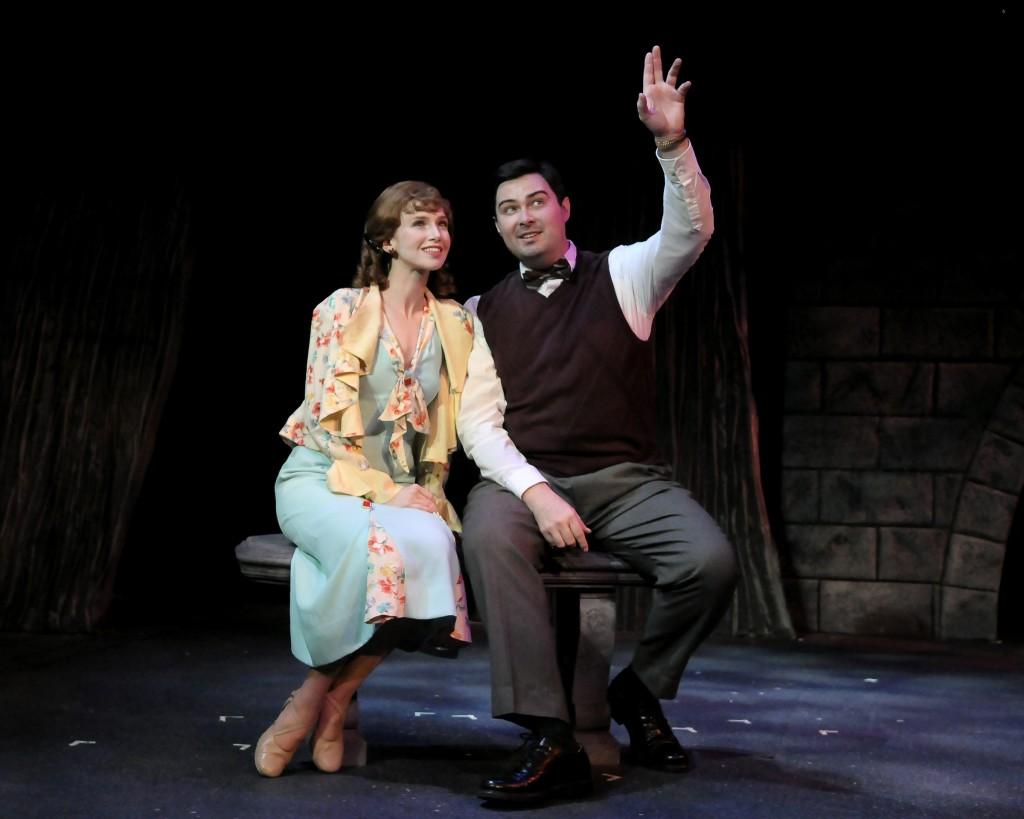 Tyler Wipfli (Mary Bailey) & Jerry Lee (George Bailey)