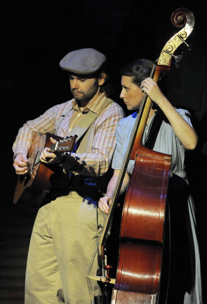 Musicians Sam Misner & Megan Pearl Smith