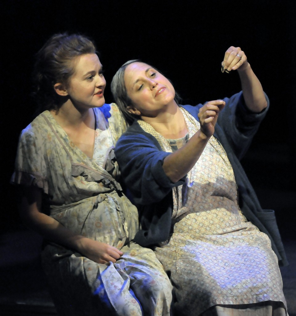 Alissa K. Doyle (Rose of Sharon) & Laura Kaya (Ma Joad)