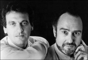 Alain Boublil and Claude-Michel Schönberg