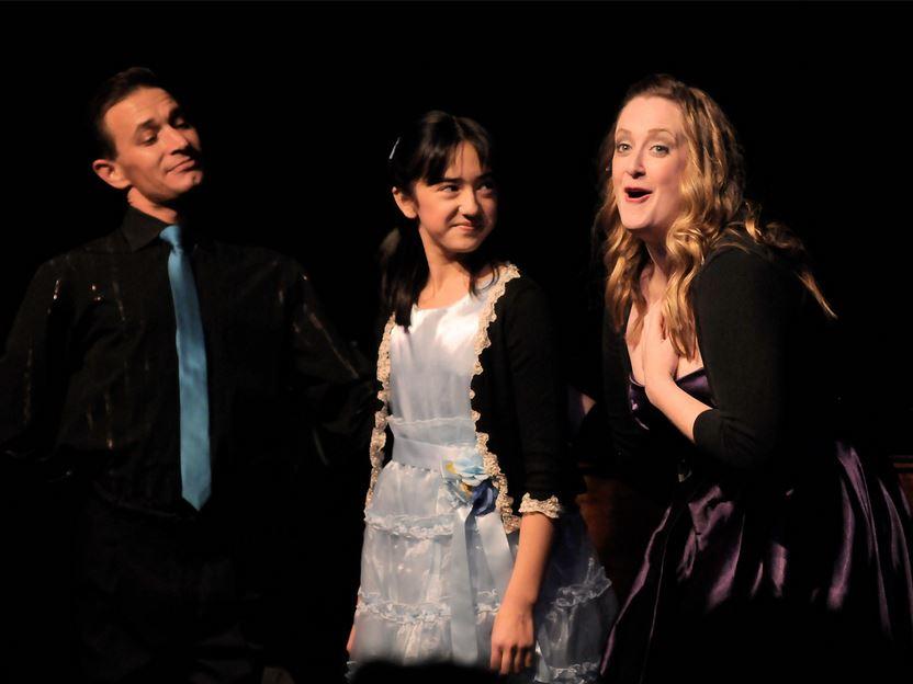 Matt Dunn, Serena Feniger, & Andrea St. Clair