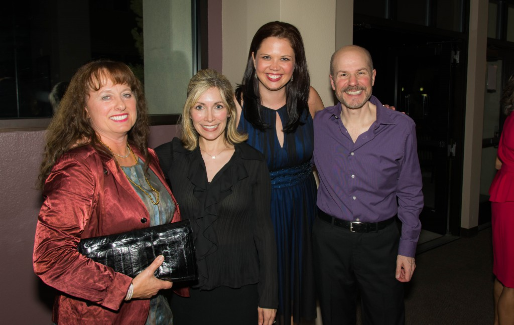 Board Chair Carol Wieckowski Dreyer, Michele Hillen-Noufer, Development Director Nicole Sterling, & Michael Laun