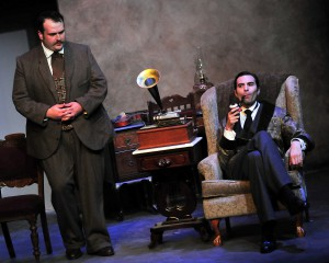 Michael RJ Campbell and William Elsman in Sherlock Holmes the Final Adventure