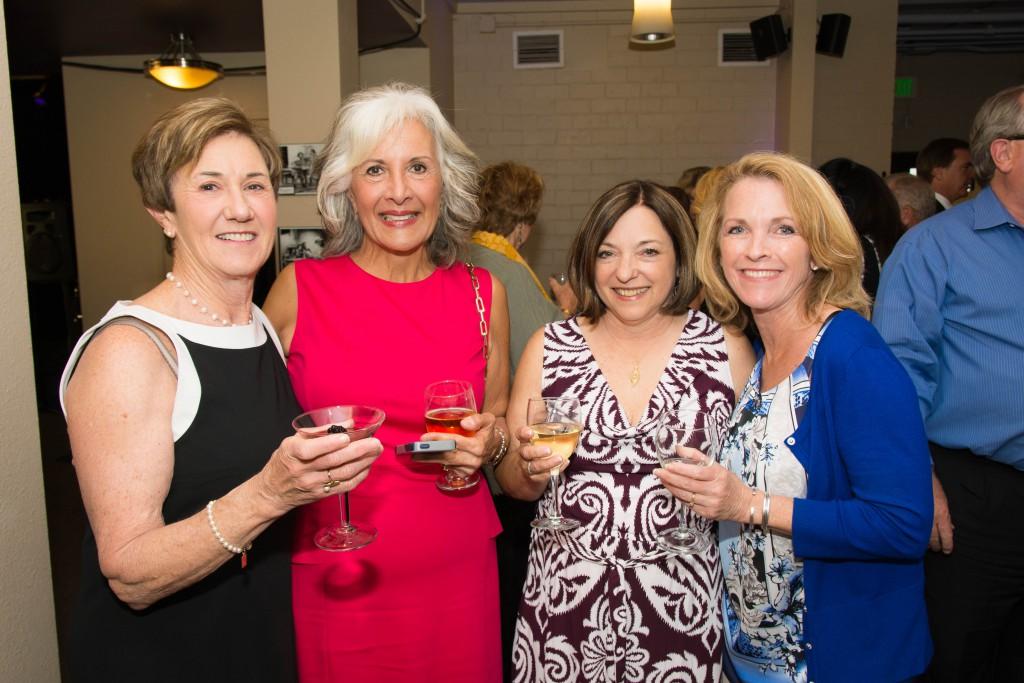 Renata Pagliaro (second from left) & Guests