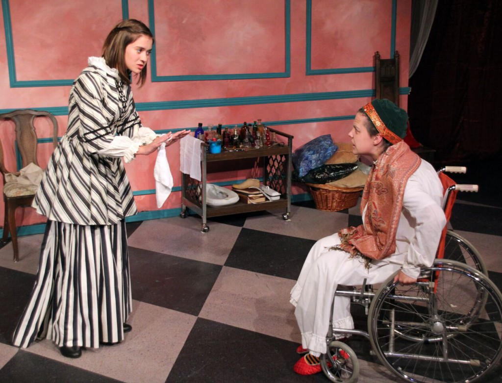 Students from STC's Young Professionals Conservatory in The Imaginary Invalid (Potions Cast)