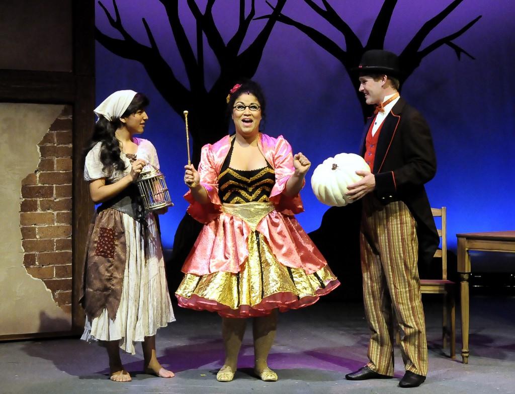 Angel Hermosillo, Miranda D. Lawson (the Good Fairy), & Ryan Blanning (Buttons)