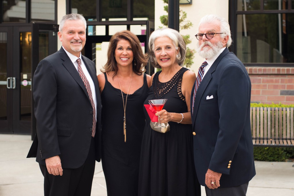 Jim & DeAnna Gibson, Board Member Renata Pagliaro, and Timothy Driver