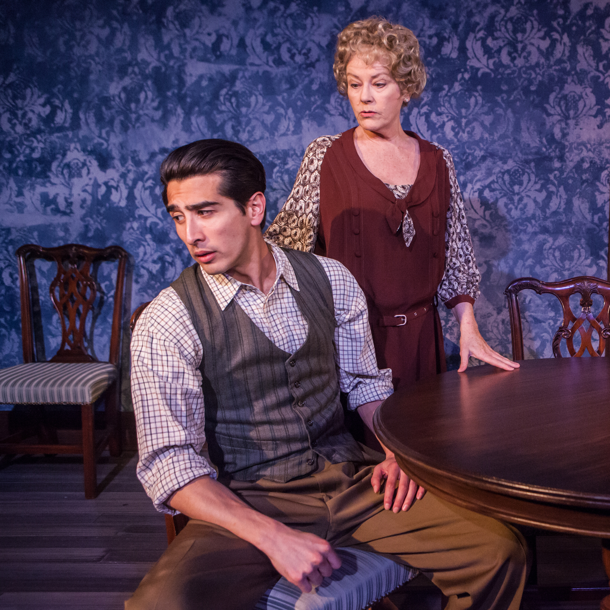 character analysis in the book through the glass menagerie Amanda wingfield is the most prominent and dynamic character in the play she  is described by williams as a little woman of great but confused vitality clinging.