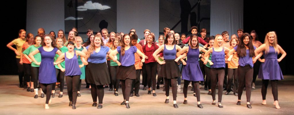 School of the Arts in the 2015 Curtains Up! Show