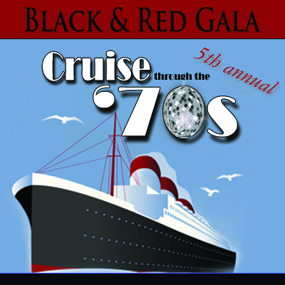 Black & Red Gala: Cruise Through The '70s